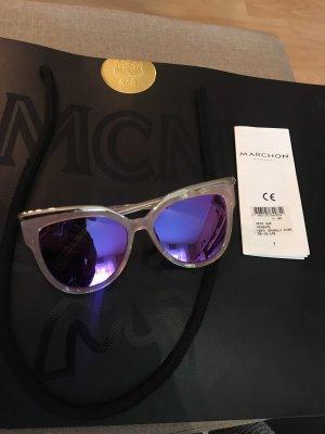 MCM Gafas de sol cuadradas multicolor