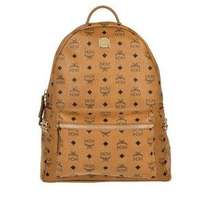 MCM Backpack cognac-coloured