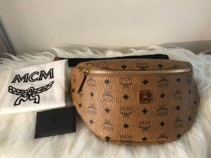 MCM Bumbag bronze-colored-black