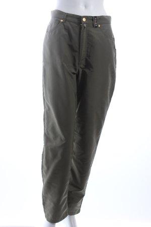 MCM Stoffhose khaki Eleganz-Look