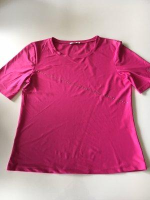 MCM Camiseta magenta-rosa