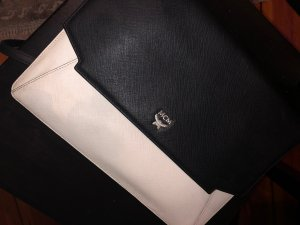 MCM Crossbody bag black-white