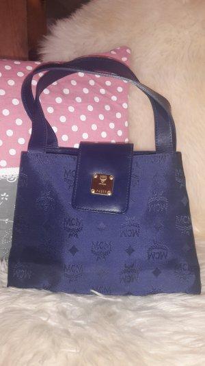 MCM Tasche, 100% original, dunkelblau, Handtasche, vintage