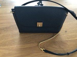 MCM Shoulder Bag anthracite-cognac-coloured
