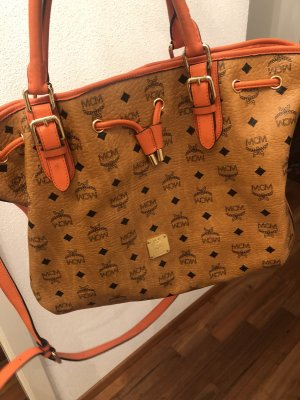 MCM Handbag dark orange-brown