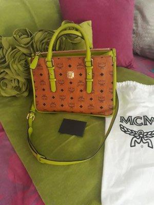 MCM Borsa telaio marrone-verde