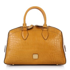 MCM Bag dark yellow