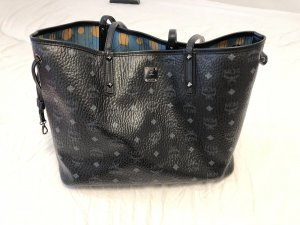 MCM Carry Bag black-blue