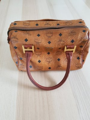 MCM Bowling Bag light brown leather
