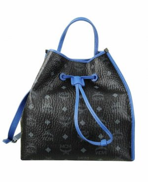 MCM Borsellino nero-blu neon