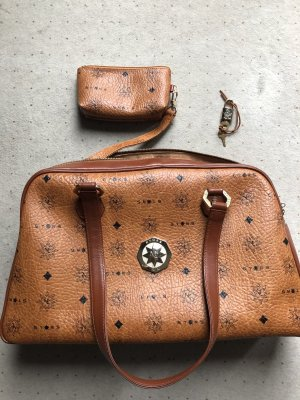 MCM Travel Bag brown-dark orange