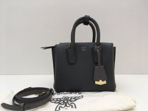 MCM Crossbody bag slate-gray