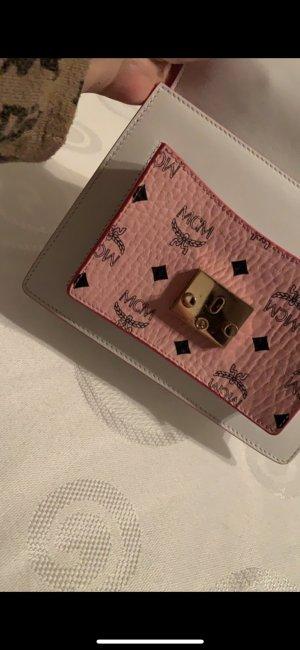 MCM Handbag white-pink