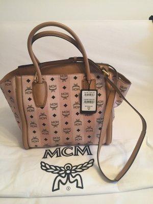 MCM Tasche neu in beige mit Logo