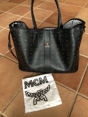 MCM Shopper black leather