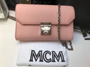 MCM Crossbody bag silver-colored-pink