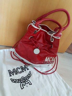 MCM Tasche rot/weiß - nicht alltäglich