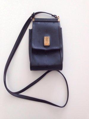 MCM Tasche schwarz Gold Vintage