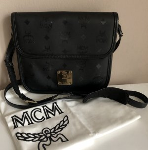 MCM Gekruiste tas zwart-goud