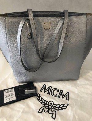 MCM Bolso color plata