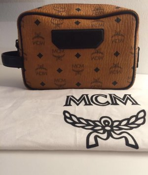 MCM Travel Bag cognac-coloured leather