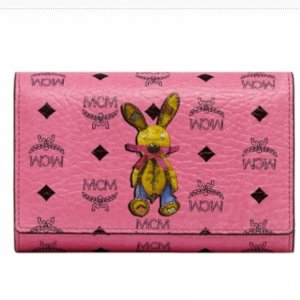 MCM Trifold Bunny Portemonnaie