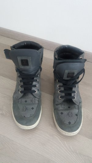MCM Shoes grey-black leather