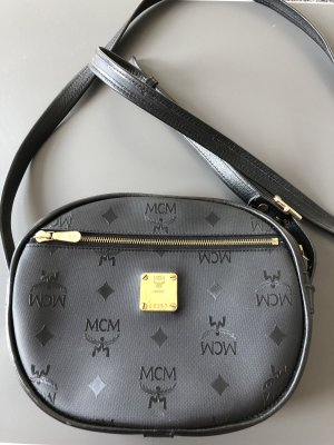 MCM Crossbody bag black-gold-colored