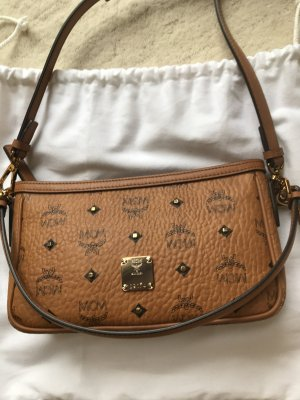 MCM Crossbody bag cognac-coloured