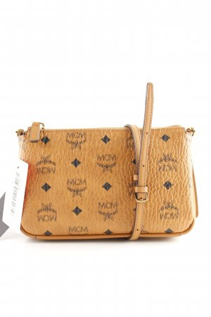 "MCM Umhängetasche ""Millie Visetos Crossbody Bag Medium Cognac"""