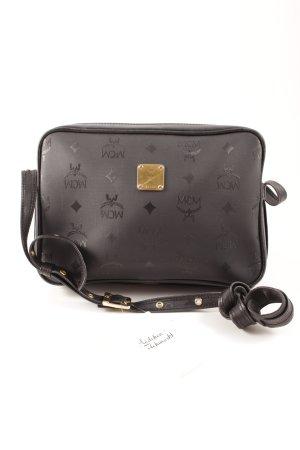MCM Crossbody bag black monogram pattern
