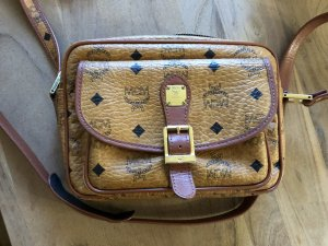 MCM Crossbody bag brown-gold-colored