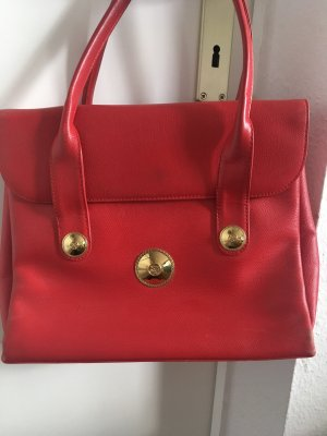 MCM Carry Bag red-oatmeal