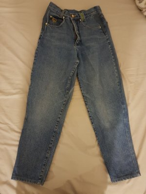 MCM Jeans a vita alta grigio ardesia