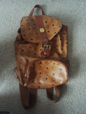 MCM Backpack light brown-brown
