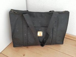 MCM Shopper gris-noir