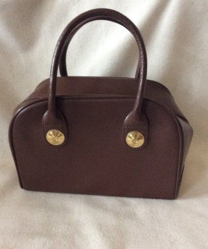 MCM Handbag bronze-colored leather