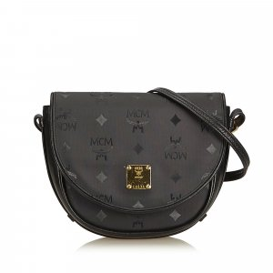 MCM Visetos Canvas Crossbody Bag