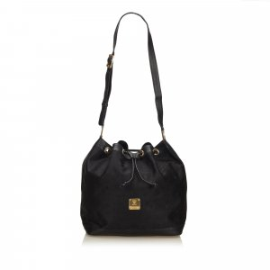 MCM Shoulder Bag black