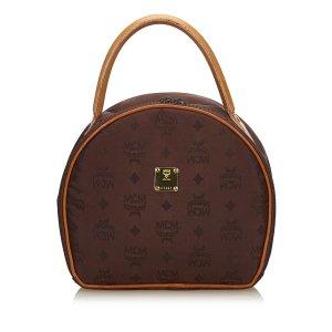 MCM Visetos Canvas Handbag