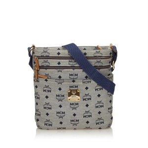 MCM Visetos Jacquard Crossbody Bag