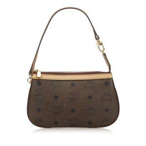 MCM Visetos Leather Bag