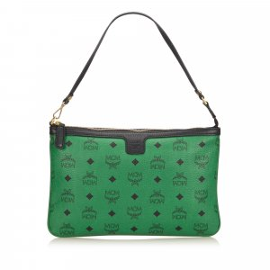 MCM Handbag green leather