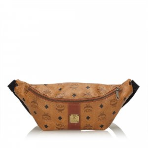 MCM Bumbag brown leather