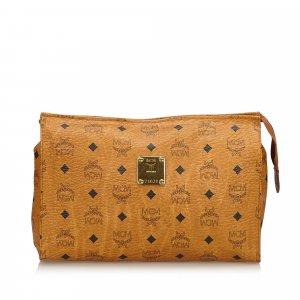 MCM Clutch brown leather