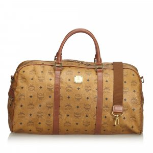 MCM Travel Bag light brown leather
