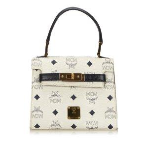 MCM Handbag white leather