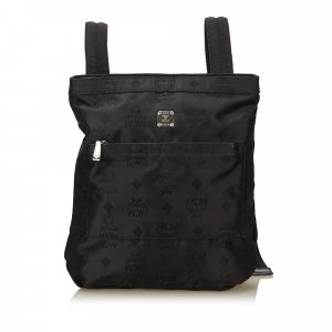 MCM Visetos Nylon Backpack