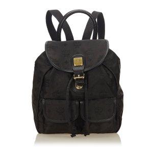 MCM Backpack black nylon