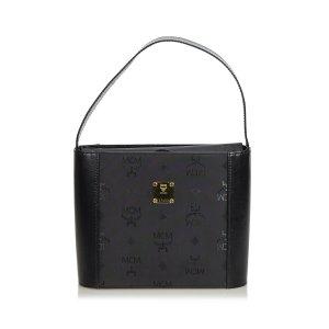 MCM Visetos Nylon Handbag